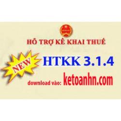 Phần mềm hỗ trợ kê khai thuế HTKK 3.1.6